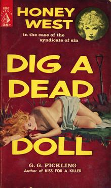 <cite>Dig a Dead Doll</cite> (Pyramid Books)