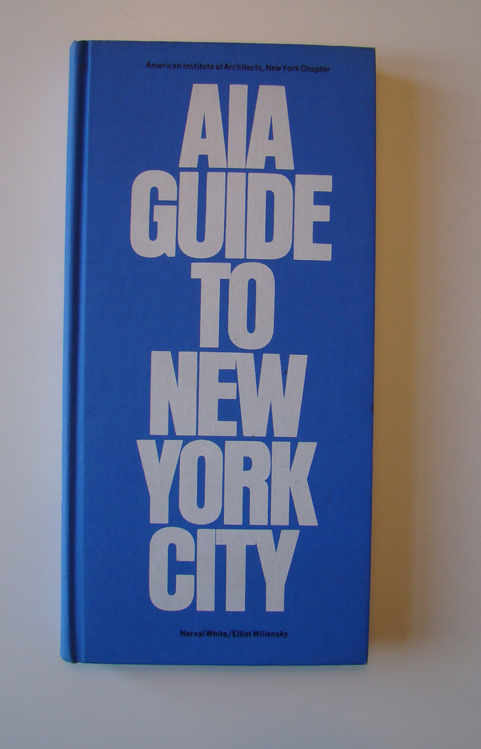 AIA Guide to New York City, 1969 4