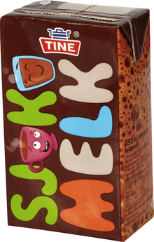 TINE Sjokomelk (chocolate milk) from Norway
