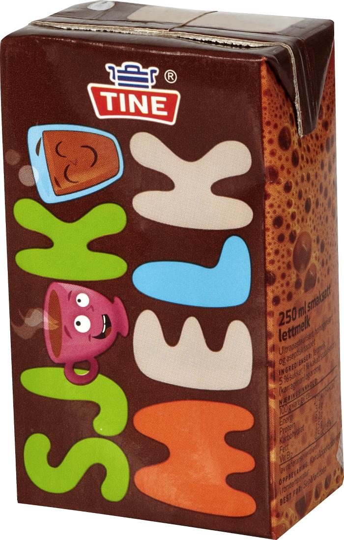TINE Sjokomelk (chocolate milk) from Norway 2