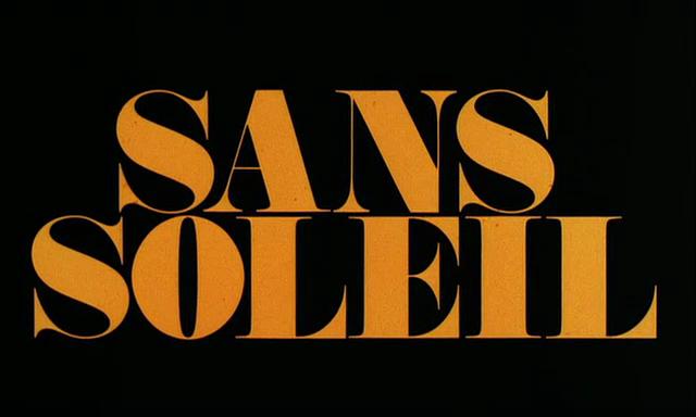 """Sans Soleil"" Opening Titles 1"