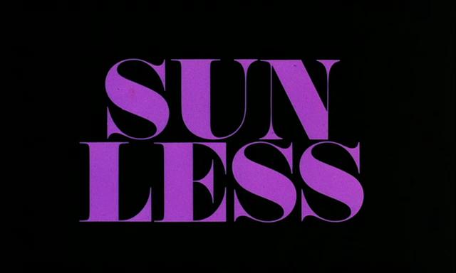 """Sans Soleil"" Opening Titles 2"