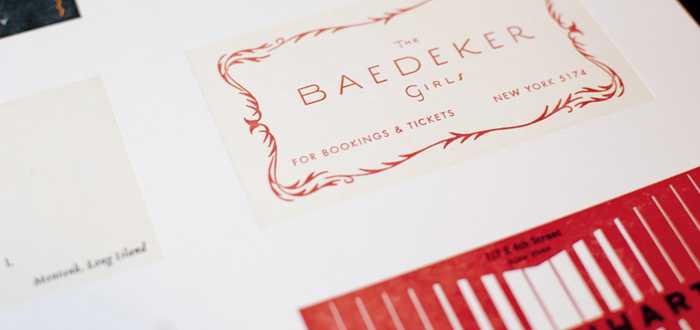Great Gatsby Business Card Print 3