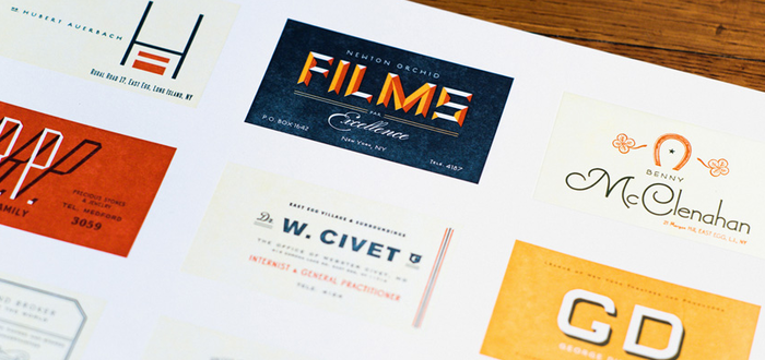 Great Gatsby Business Card Print 4