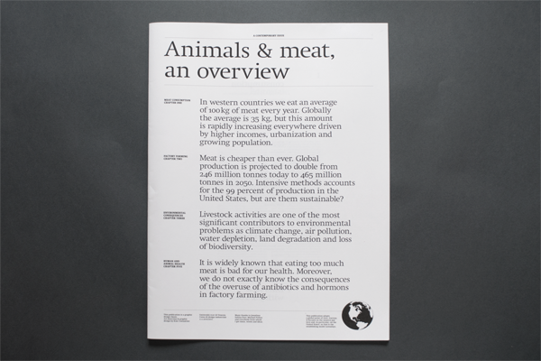 Animals & meat, an overview 2