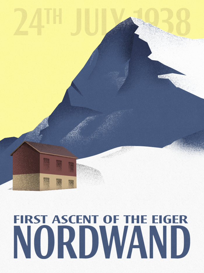 First Ascent of the Eiger