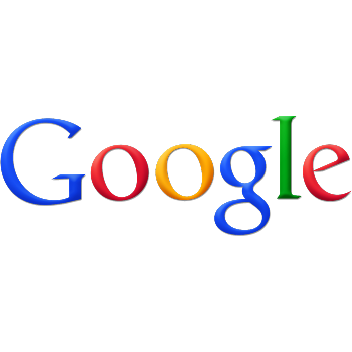 """The Google logo fromMay 6, 2010 to September 19, 2013. The major difference in comparison to the previous logo (valid since May 31, 1999) is the reduced distance of the projected shadow behind the word Google and the change in color of the yellow """"o"""" to orange."""