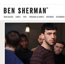 Ben Sherman website