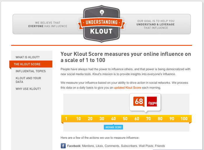 Klout 1