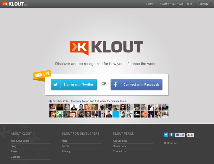 Klout 4