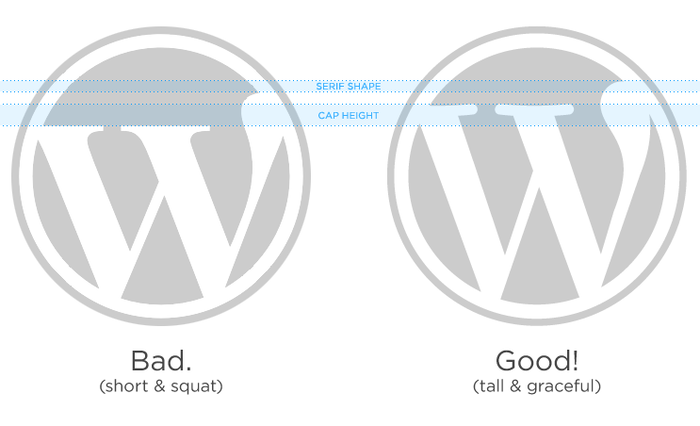 """Friends don't let friends use the wrong WordPress logo. If you see one of these in the wild, please gun it down.""  — WordPress.org"