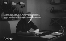 Bedow portfolio website