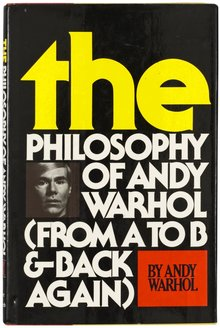 <cite>The Philosophy of Andy Warhol</cite>
