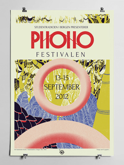 Forum in use for the Phono festival teaser poster