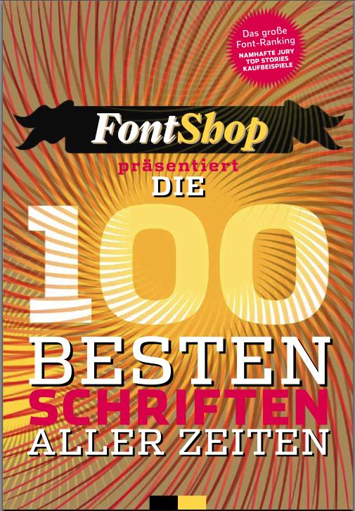 100 Beste Schriften booklet 1