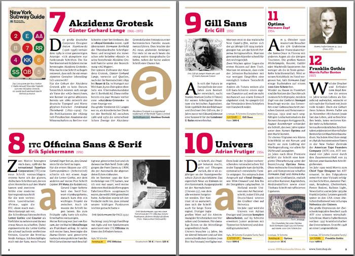 100 Beste Schriften booklet 2