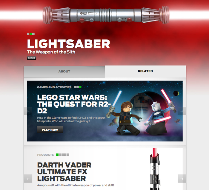 StarWars.com Website 2