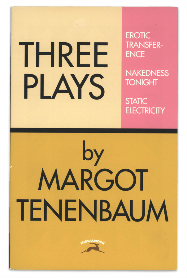 Book covers from The Royal Tenenbaums 2