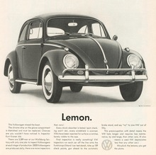 Volkswagen of America ads, 1960–68