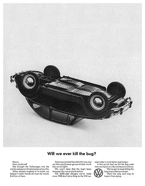 Volkswagen of America ads, 1960–66 4