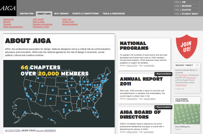 AIGA Website 2