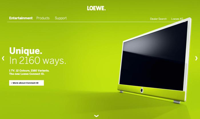 Loewe.tv Website 1