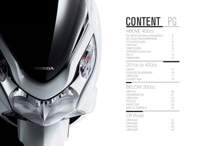 Honda Catalogue 3