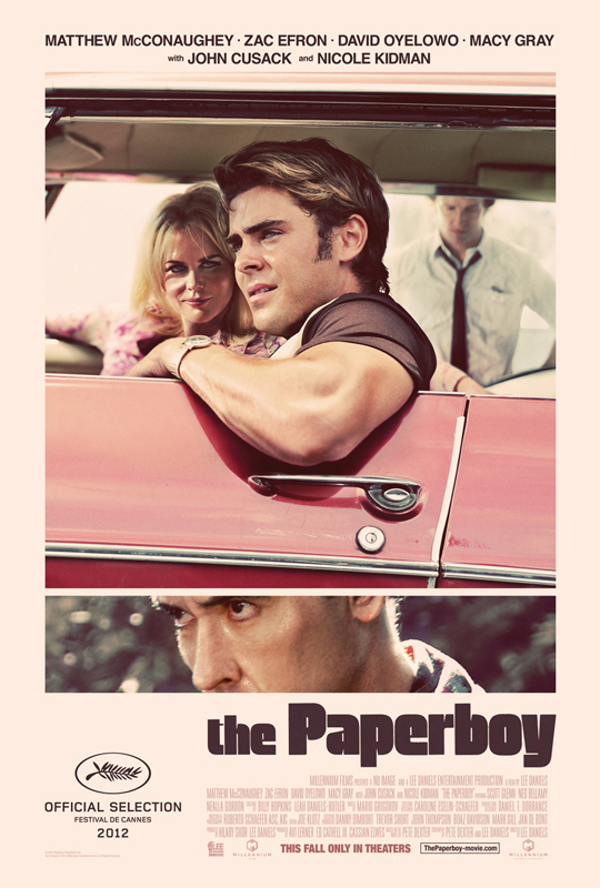 """The Paperboy"" poster 1"