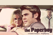 """The Paperboy"" poster"