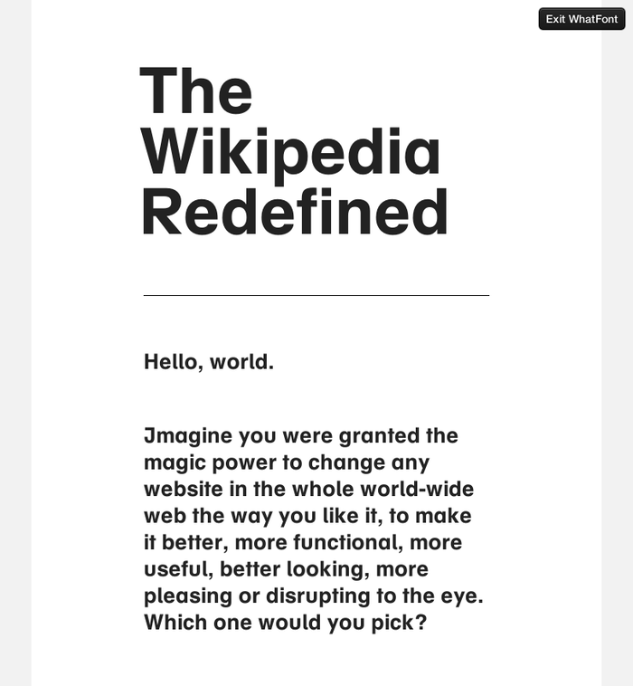 Wikipedia Redefined 2