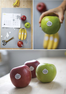 Fruit Stickers for Kids