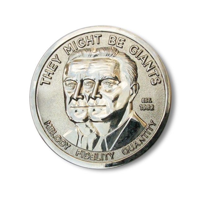 They Might Be Giants coin 2