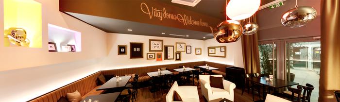Koffeein café visual identity 2