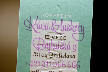 Koffeein café visual identity 7