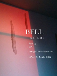 BELL concert posters