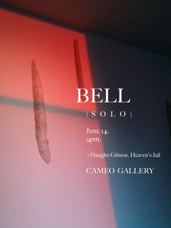 BELL concert posters 1