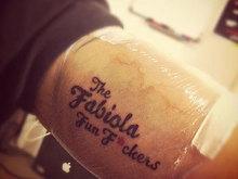 Fabiola tattoo
