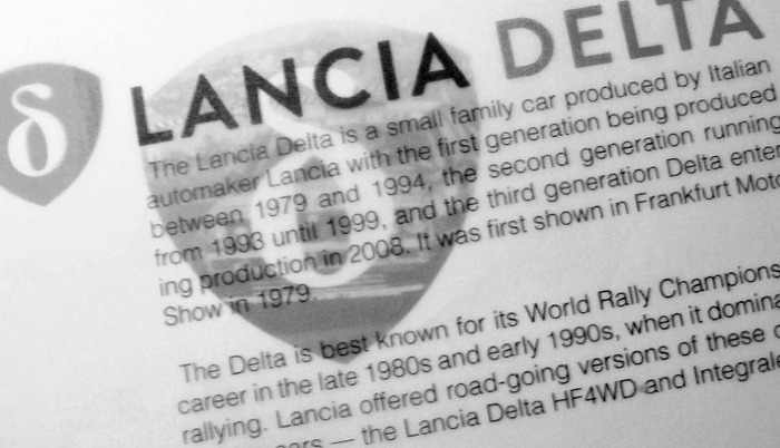 Lancia Delta Integrale 2