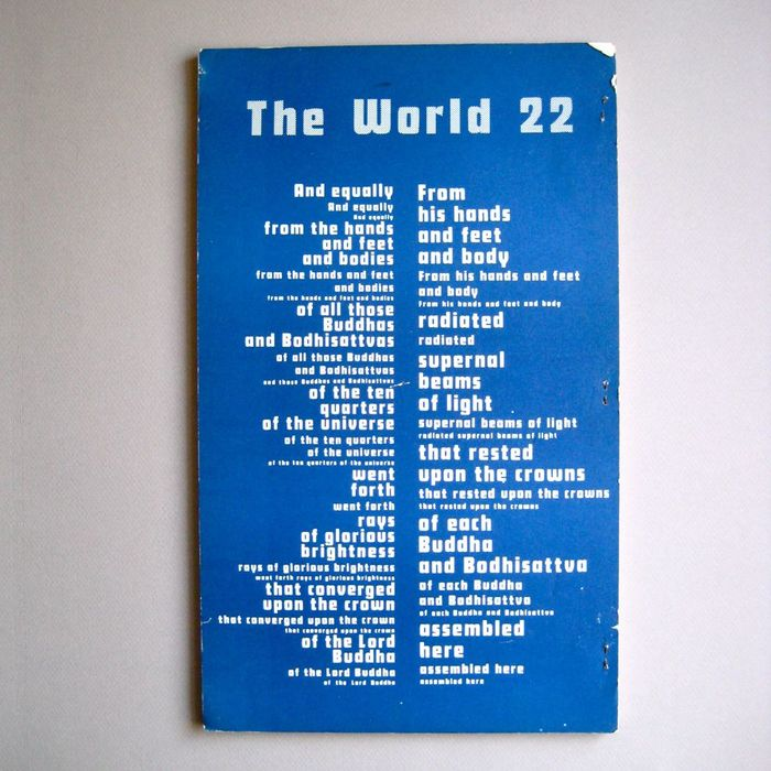 The World 22 1