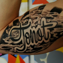 """Tonot"" tattoo"
