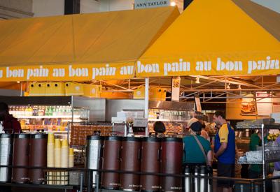 Au Bon Pain logo / branding 6