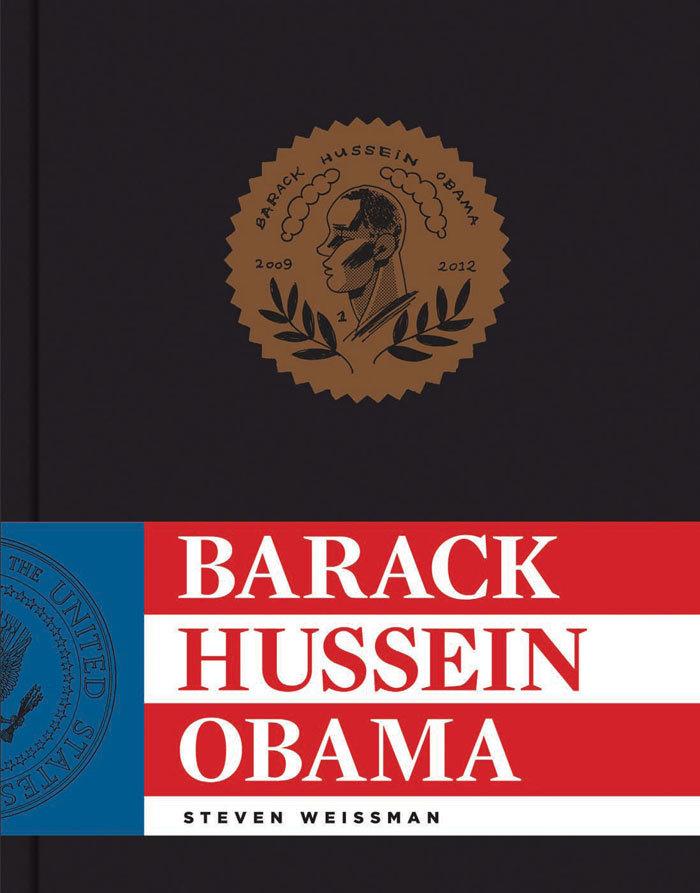 Barack Hussein Obama book cover
