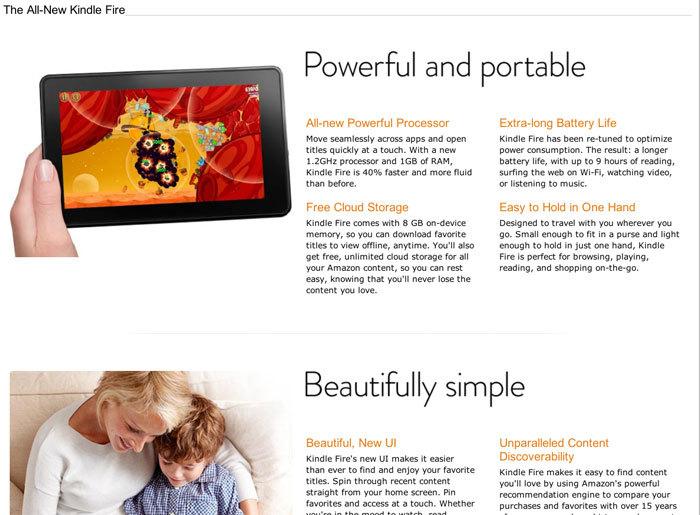 Amazon Kindle logo and marketing 3