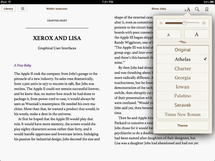 Apple iBooks 1.5 1