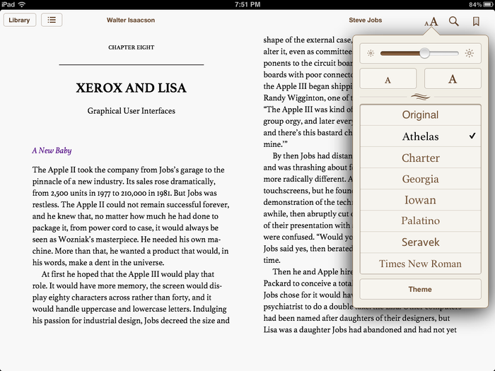 Apple iBooks 1.5 1