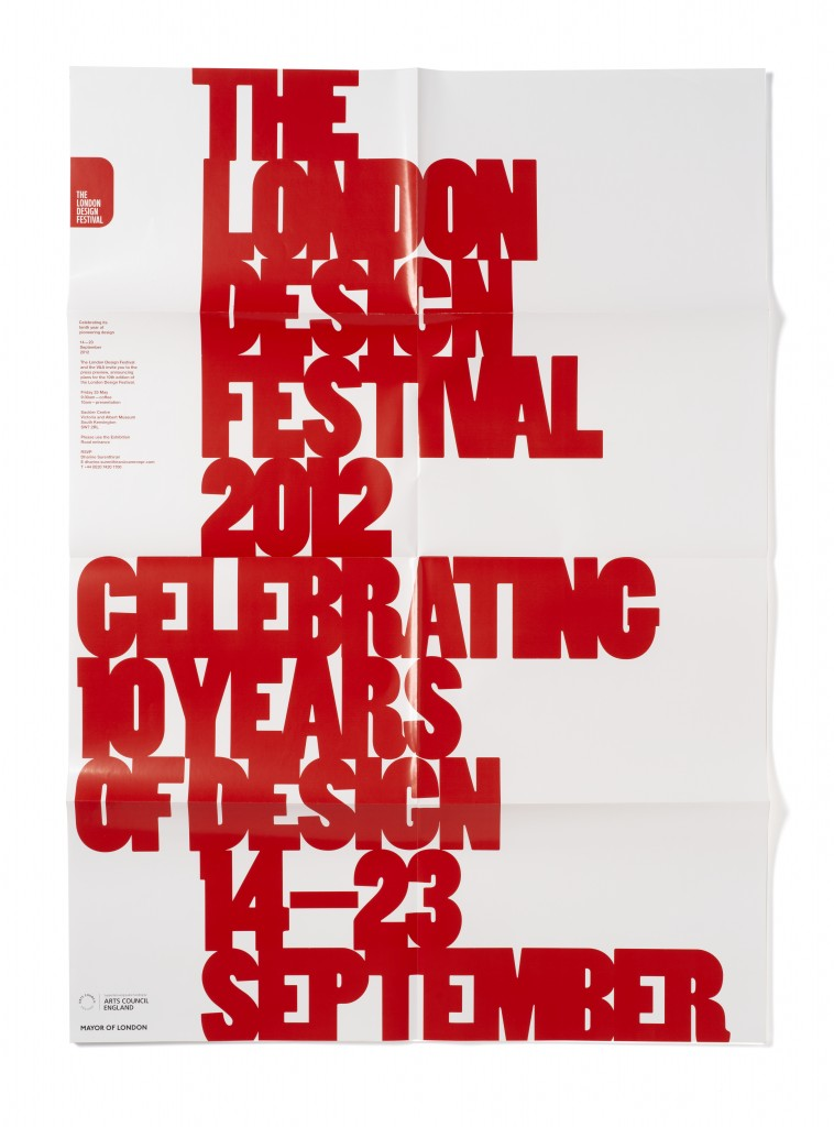 London Design Festival 2012 - Fonts In Use
