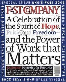 <cite>Fast Company</cite>, Nov 2001
