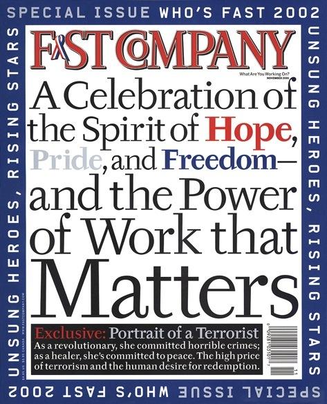 Fast Company, Nov 2001