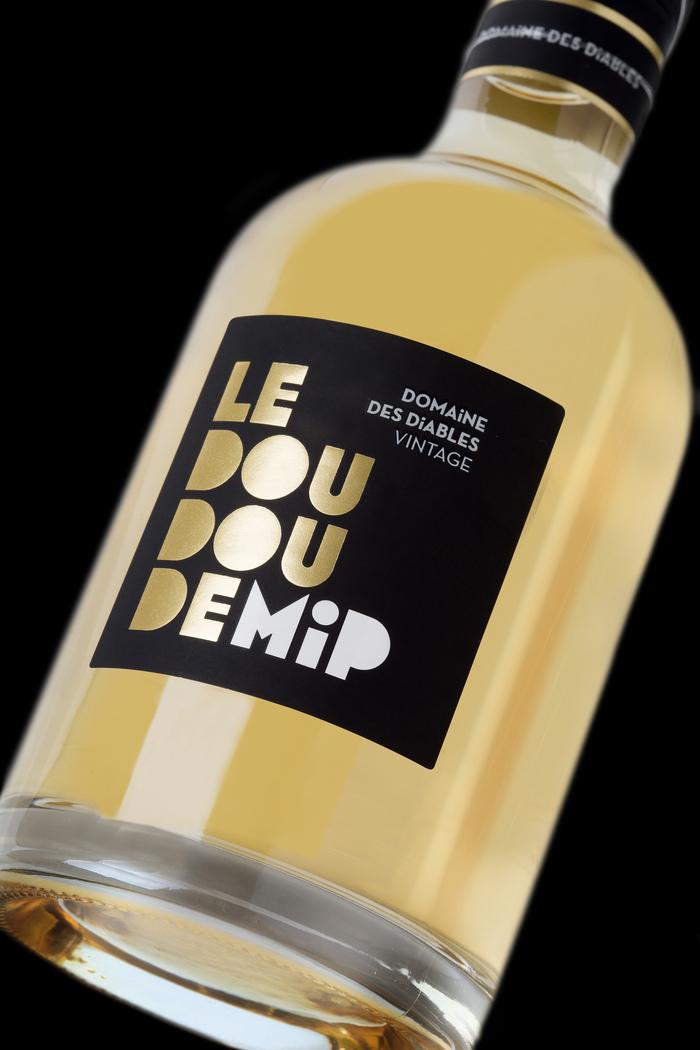 Domaine des Diables wine label 2