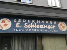 """Lederwaren E.<span class=""""nbsp"""">&nbsp;</span>Schlesinger"""